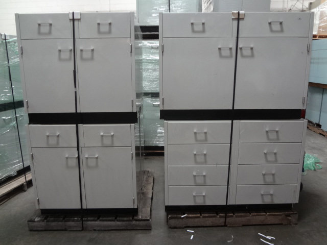 Quality Steel Lab Cabinets From St Charles