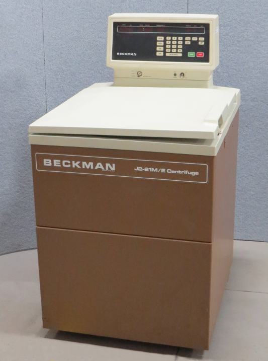 floor model centrifuges beckman model j2 21m e freestanding rh analyticalinstrument com Beckman Spinchron Centrifuge Beckman Coulter Manual