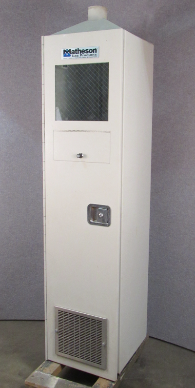 Image of Matheson-Gas-Products-Cylinder-Cabinet by Analytical Instruments
