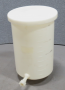 Nalgene Cylindrical Tank with Cover and with Spigot