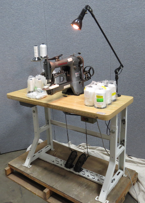 Clearance Equipment Camatron Sewing Machine With Table